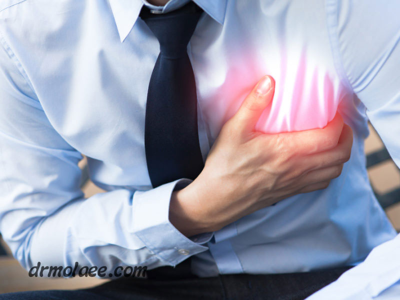 رابطه استرس با بیماری های قلبی
